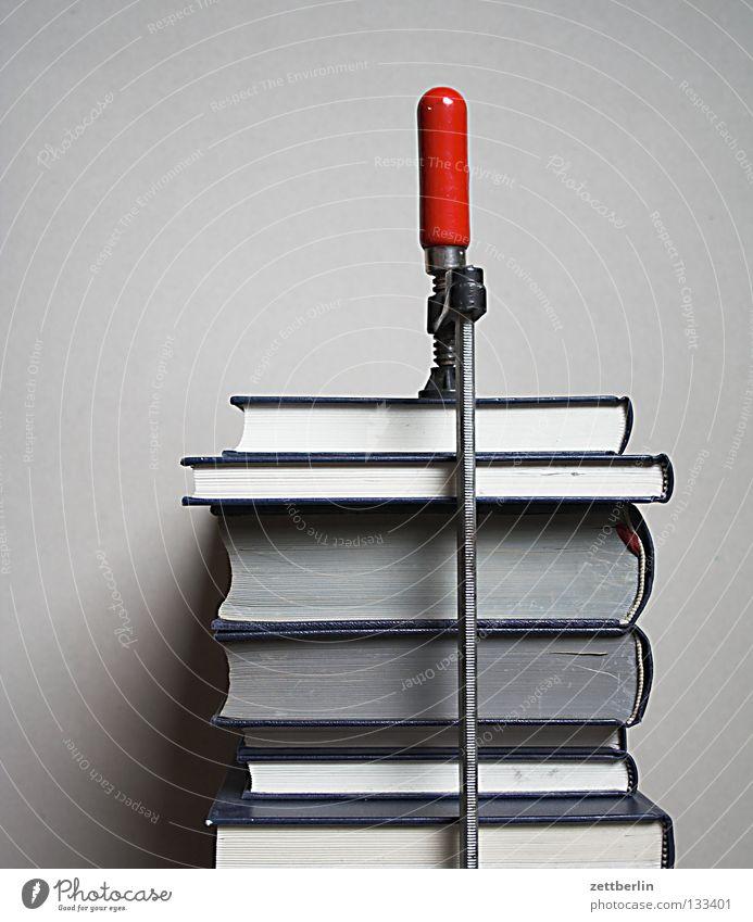 Bücher Schule Buch lernen Studium Bildung Medien Werkzeug obskur Sammlung Stapel Wissen Berufsausbildung Druck Printmedien Literatur Lexikon