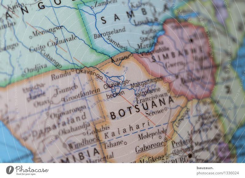botswana. Natur Ferien & Urlaub & Reisen Sommer Landschaft Ferne Umwelt Freiheit Tourismus Wildtier Schriftzeichen Ausflug Abenteuer Wandel & Veränderung Afrika