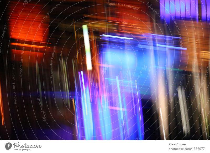 nights in the city Stil Tourismus Sightseeing Städtereise Nachtleben Entertainment Kunst Architektur Hauptstadt Stadtzentrum Gebäude Feste & Feiern leuchten