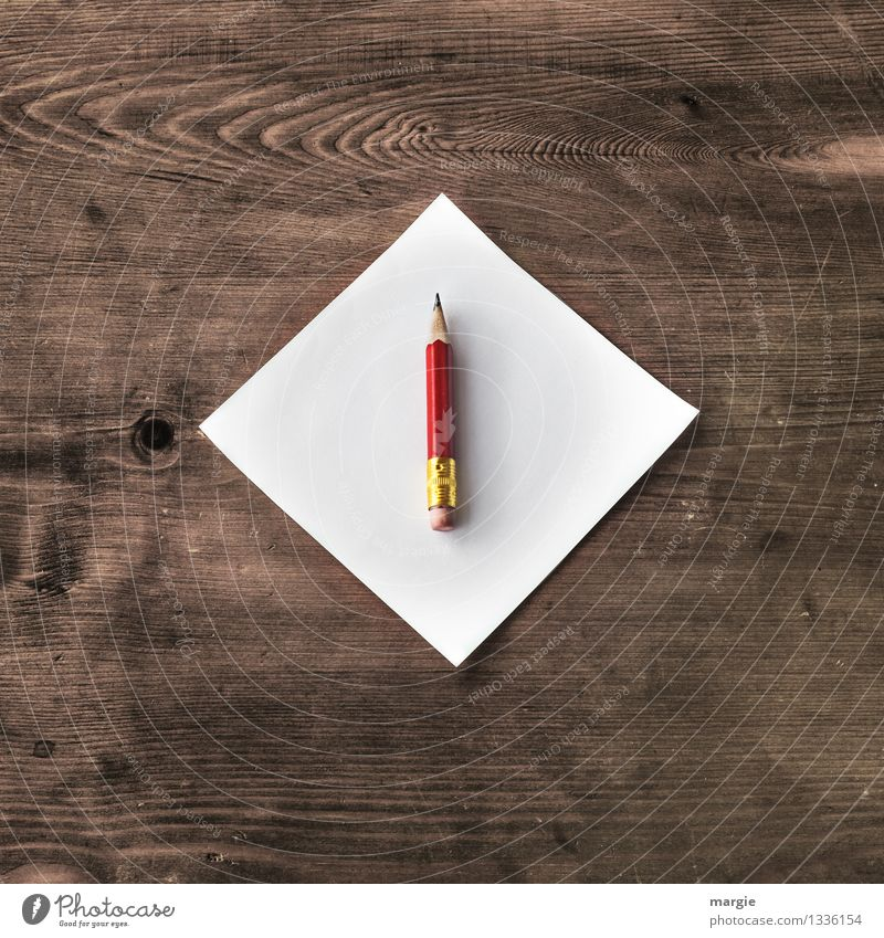 Chefsache rot sprechen Holz Schule braun Business Arbeit & Erwerbstätigkeit Büro Erfolg lernen Papier schreiben Beruf Schüler Schreibtisch Schreibstift