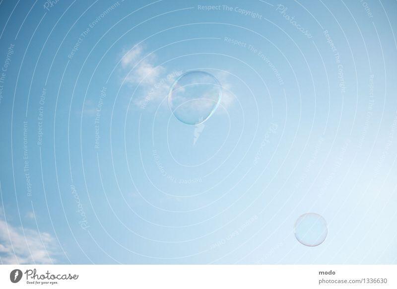 Blowin' in the wind Himmel Natur blau Sommer ruhig Wolken Freiheit fliegen Wetter Luft Wind Fröhlichkeit Italien Schönes Wetter Freundlichkeit Sauberkeit