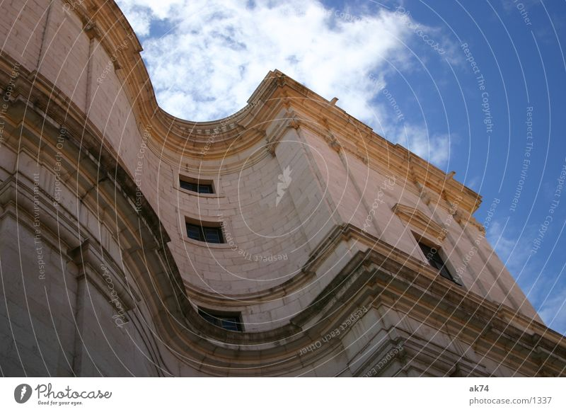 Schwung2 Himmel Wolken Religion & Glaube Wellen Lissabon Kloster Gotteshäuser