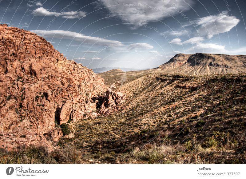#1337597 Ferien & Urlaub & Reisen Ausflug Abenteuer Ferne Freiheit Sommerurlaub Berge u. Gebirge wandern Natur Landschaft Sand Himmel Wolken Sträucher Felsen
