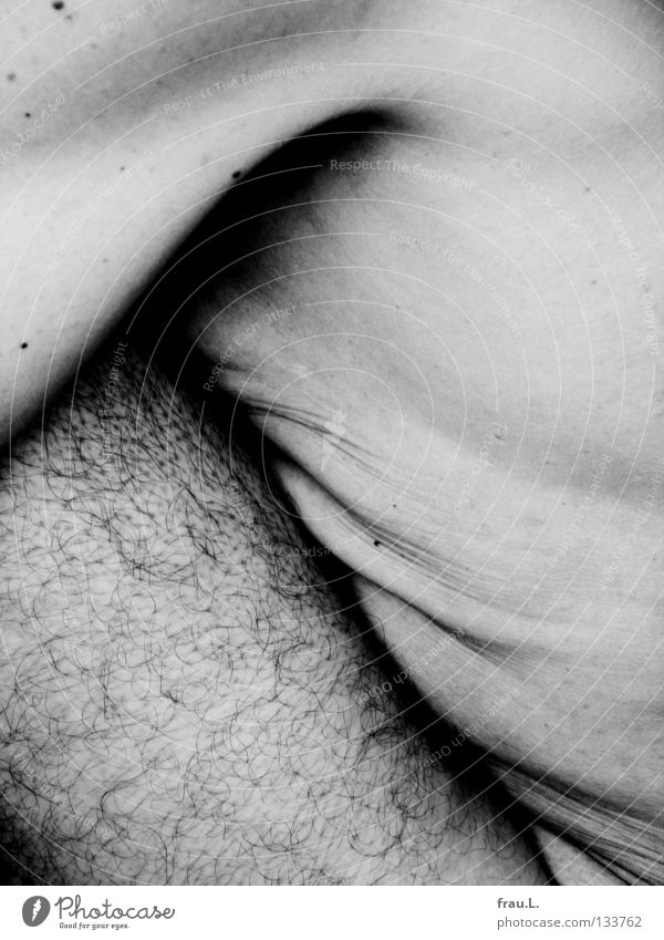 gefaltet Mensch Mann alt nackt Haare & Frisuren Beine Haut weich dünn Brust Hautfalten Falte Bauch bleich Akt Sportler