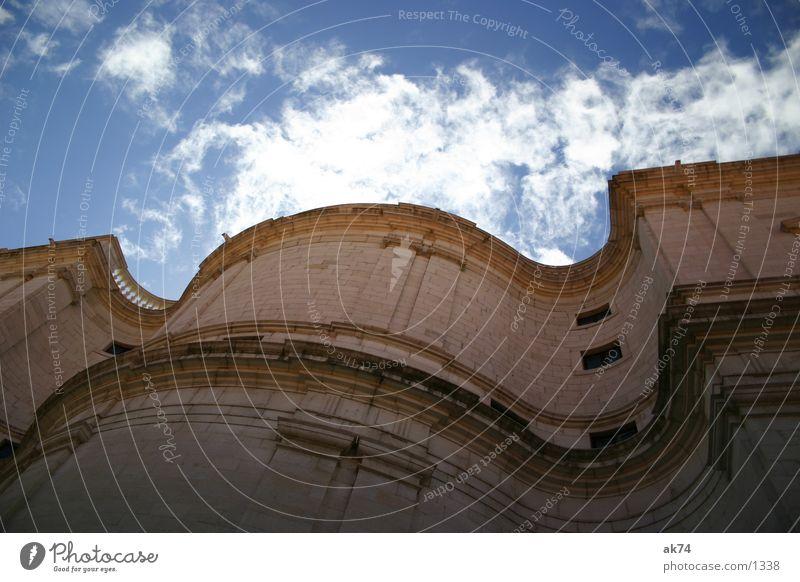 Schwung Himmel Wolken Religion & Glaube Wellen Lissabon Kloster Gotteshäuser