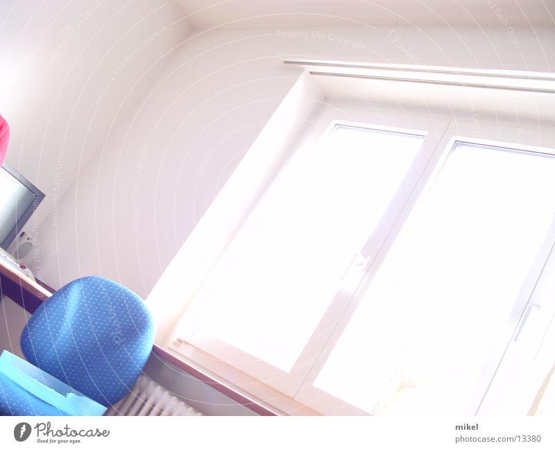 sunshine Fenster Licht weiß Raum Architektur Sonne Stuhl starkes licht