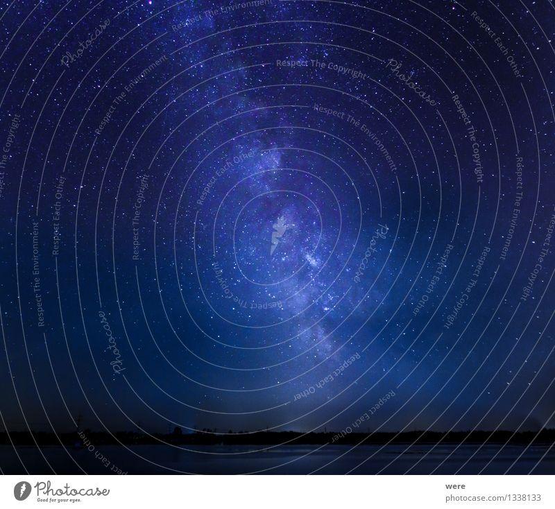 Unendliche Weiten Umwelt Landschaft Himmel Nachthimmel Stern Observatorium gigantisch glänzend groß Astronaut Astronomie Milchstrasse Raumflug Sternbild