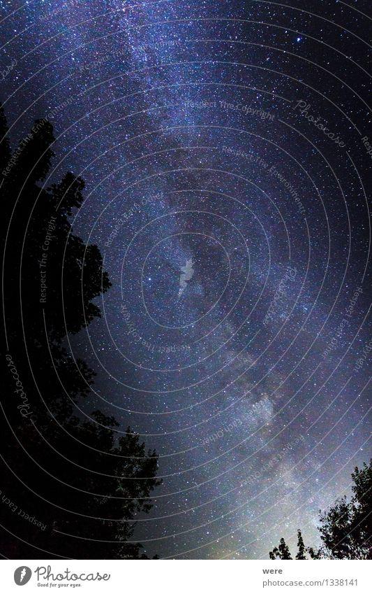 MilkyWay Umwelt Natur Landschaft Himmel Nachthimmel Stern Observatorium gigantisch groß Unendlichkeit oben Gefühle Stimmung Begeisterung Macht bescheiden