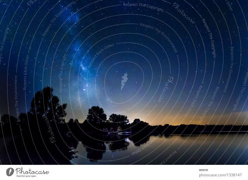 hoch hinaus | Zu den Sternen! Himmel Natur Landschaft Umwelt groß Unendlichkeit Fernweh Nachthimmel gigantisch Astronaut Sternschnuppe Astronomie Sternbild