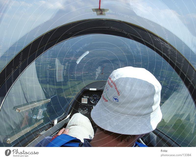 beck-motiv-22 Luftverkehr Pilot Flugzeug Cockpit Segelfliegen