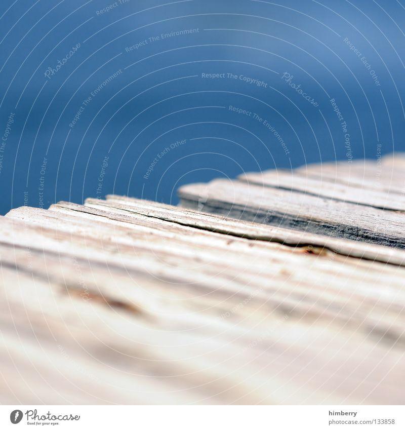 risskante Meer Ferien & Urlaub & Reisen Steg Wasserfahrzeug Holz trocken Ecke Florida Bar Natur gehen Spaziergang tauchen ankern Jacht Jachthafen Detailaufnahme