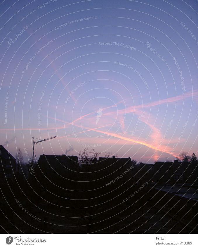 beck-motiv-05 Morgen Hintergrundbild Morgendämmerung Himmel