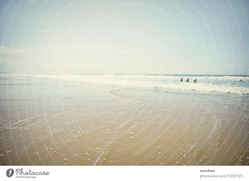 surfers paradies Meer Sonne Wasser Strand Wellen Himmel Sommer Ferien & Urlaub & Reisen Surfen Wetter Atlantik