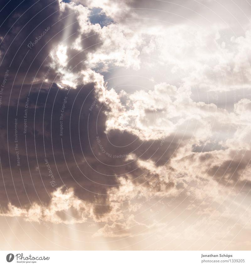 Himmelsöffner Umwelt Luft nur Himmel Wolken Sonne Sonnenlicht Klima Klimawandel Schönes Wetter Wahrheit vernünftig Weisheit Himmel (Jenseits) Religion & Glaube
