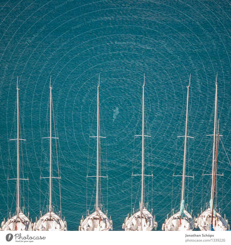 Îles de Marseille XVI Ferien & Urlaub & Reisen blau Sommer Wasser Landschaft Meer Erholung Küste Wasserfahrzeug Zufriedenheit Insel genießen Schönes Wetter