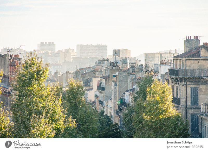 Blick auf Marseille IV Sommer Stadt Baum Haus Reisefotografie Tourismus Stadtleben Zufriedenheit ästhetisch Erfolg Aussicht Schönes Wetter Lebensfreude Dach