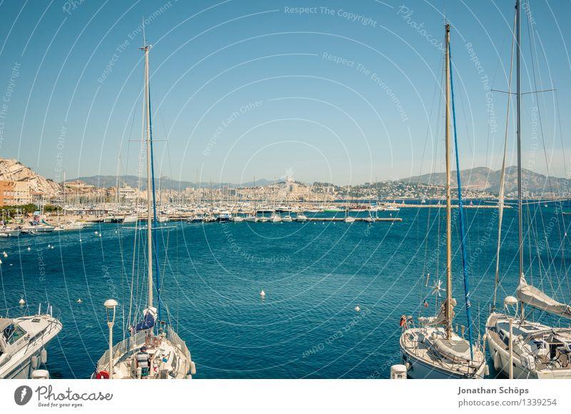 Îles de Marseille XIV Himmel Natur Ferien & Urlaub & Reisen blau Sommer Wasser Landschaft Meer Erholung Reisefotografie Umwelt Küste Glück Wasserfahrzeug