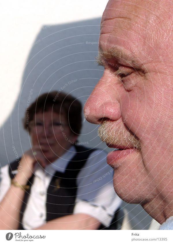 nah-aufnahme Mensch Mann Gesicht