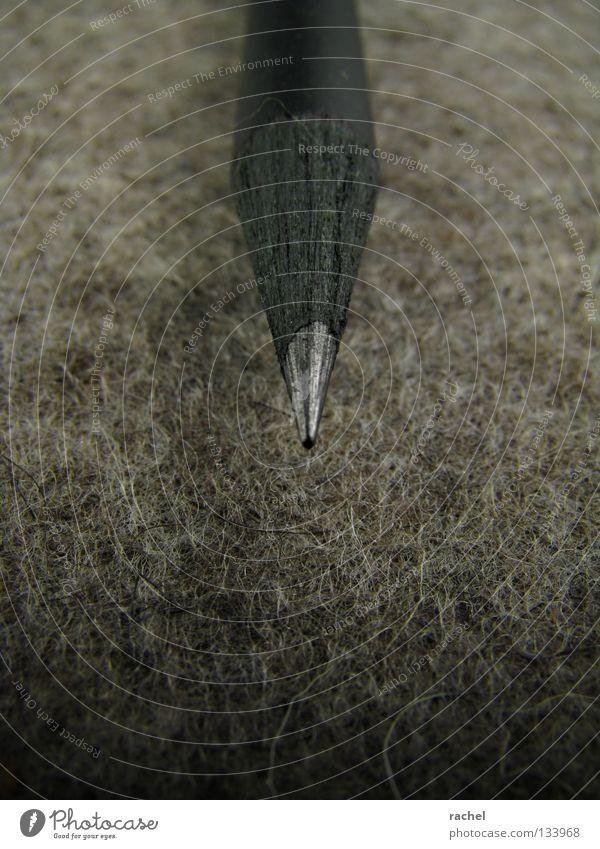 Flusenmagnet Schreibtisch Handwerk Kunst Gemälde Stoff Schreibwaren Schreibstift Holz zeichnen schreiben dreckig dunkel neu Spitze schwarz Kreativität Filz