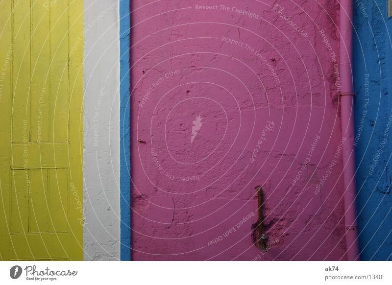 CYMW zyan gelb weiß Streifen Wand Fototechnik Margenta Farbe