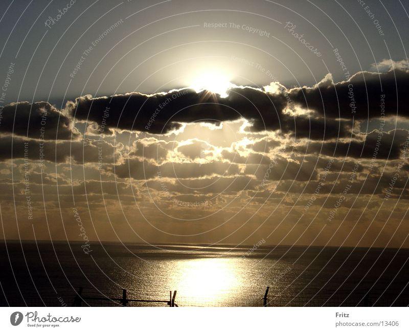 thank-you-god Wasser Meer Ferien & Urlaub & Reisen Wolken