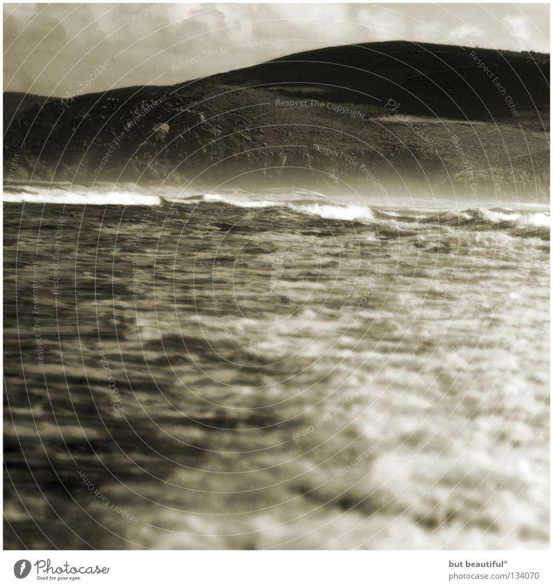 secret sea° Wasser Meer Sommer Strand Küste Nebel Leidenschaft Spanien Brandung Wasserdampf poetisch
