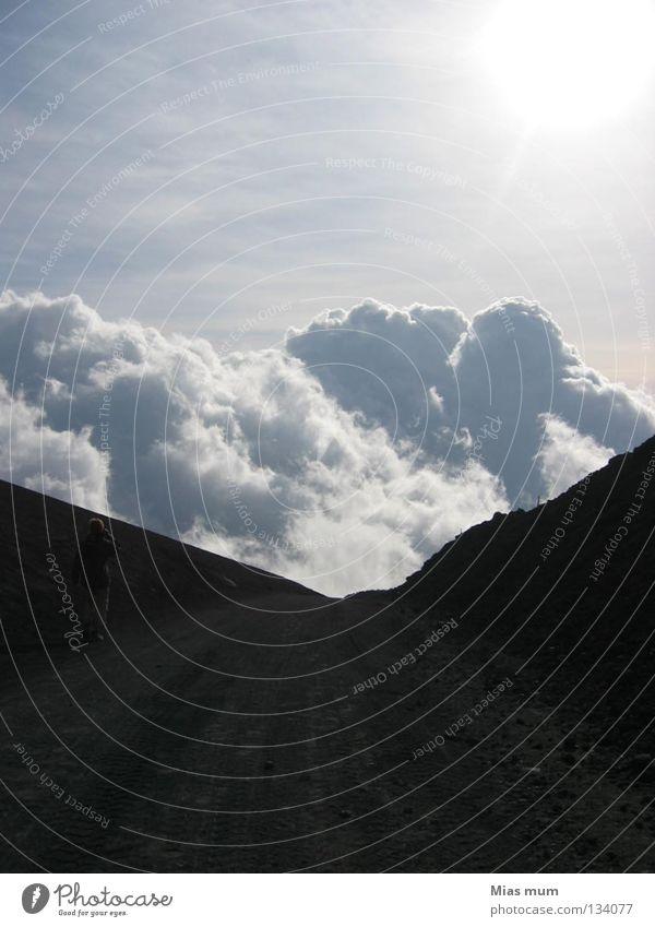 Heaven's Gate Natur Wolken Berge u. Gebirge Freiheit Niveau Vulkan abgehoben Sizilien Ätna