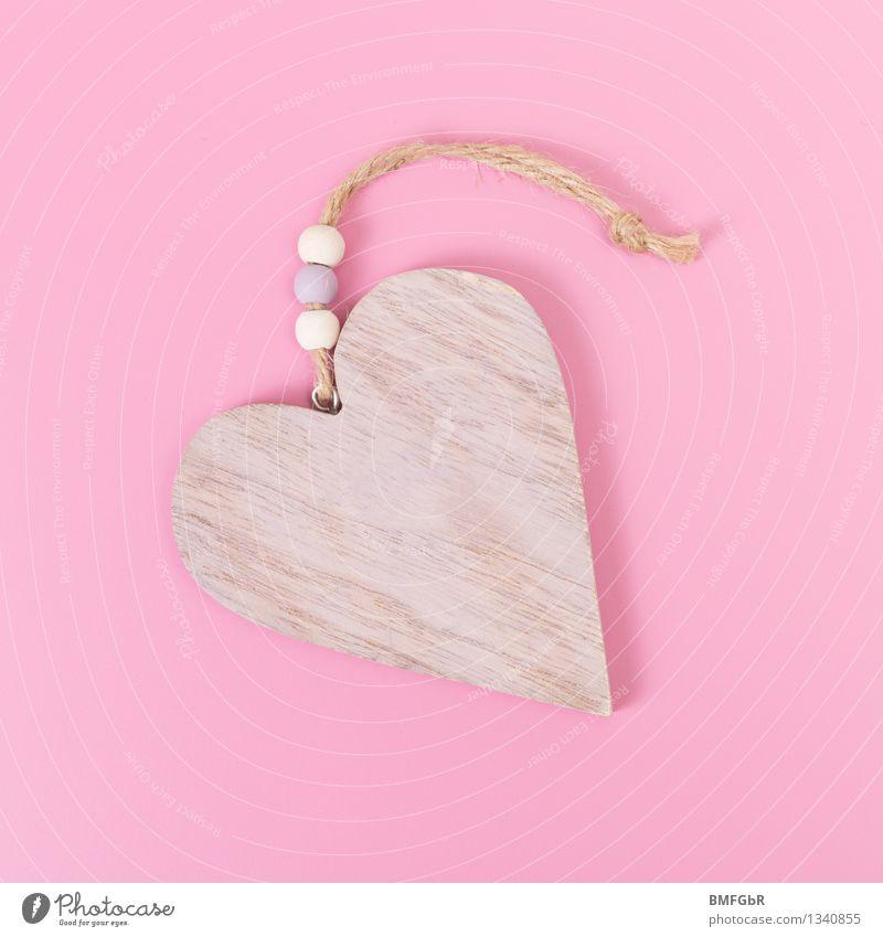Herzensangelegenheit schön Mädchen Liebe Holz Glück Feste & Feiern rosa Design Freizeit & Hobby Dekoration & Verzierung Fröhlichkeit Lebensfreude Zeichen