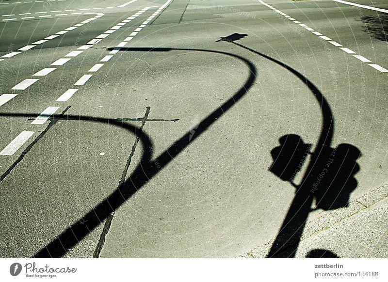 Yorckstraße Straße Lampe Linie Beleuchtung Schilder & Markierungen Asphalt Laterne Verkehrswege Kurve Ampel Straßenbeleuchtung Fahrbahn Fahrbahnmarkierung Peitschenlaterne Strichellinie