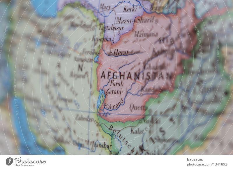 afghanistan. Afghanistan Iran Linie Globus Aggression chaotisch Hilfsbereitschaft Hoffnung Krieg Perspektive Politik & Staat Rettung Risiko Schutz Sicherheit