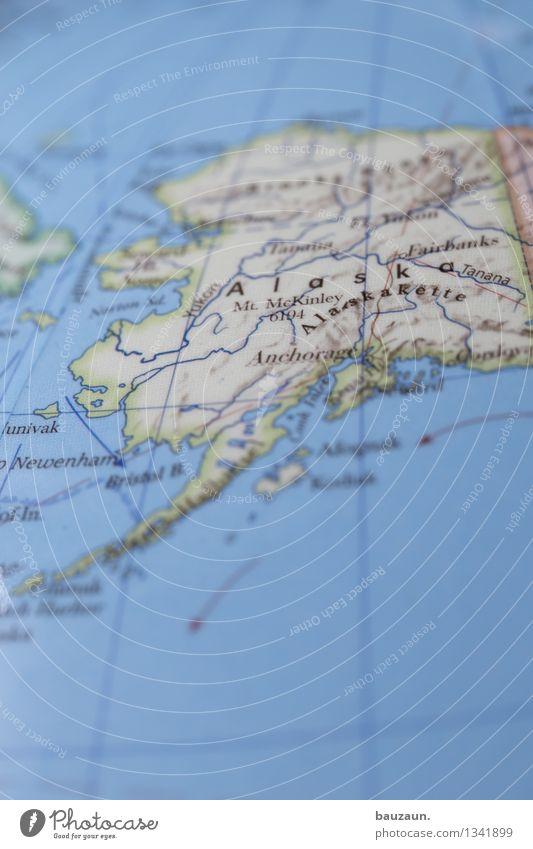 alaska. Ferien & Urlaub & Reisen Tourismus Abenteuer Ferne Freiheit Winter Winterurlaub Umwelt Natur Landschaft Erde Klima Klimawandel Wetter Alaska Amerika