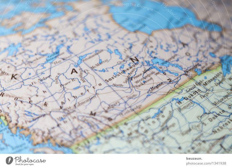 kanada. Natur Ferien & Urlaub & Reisen Landschaft Ferne Umwelt Freiheit Häusliches Leben Tourismus Schriftzeichen Abenteuer Amerika Camping Globus