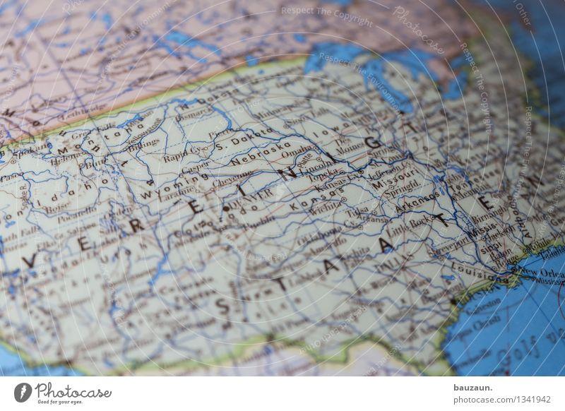 usa. Ferien & Urlaub & Reisen Tourismus Ausflug Abenteuer Ferne Freiheit Expedition USA Amerika Schriftzeichen Globus Häusliches Leben Gesellschaft (Soziologie)
