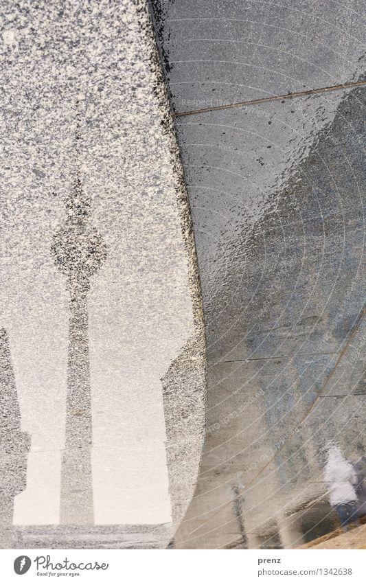 Guten Morgen Berlin Herbst Wetter schlechtes Wetter Regen Stadt Hauptstadt Stadtzentrum Turm Architektur Sehenswürdigkeit nass grau Berliner Fernsehturm