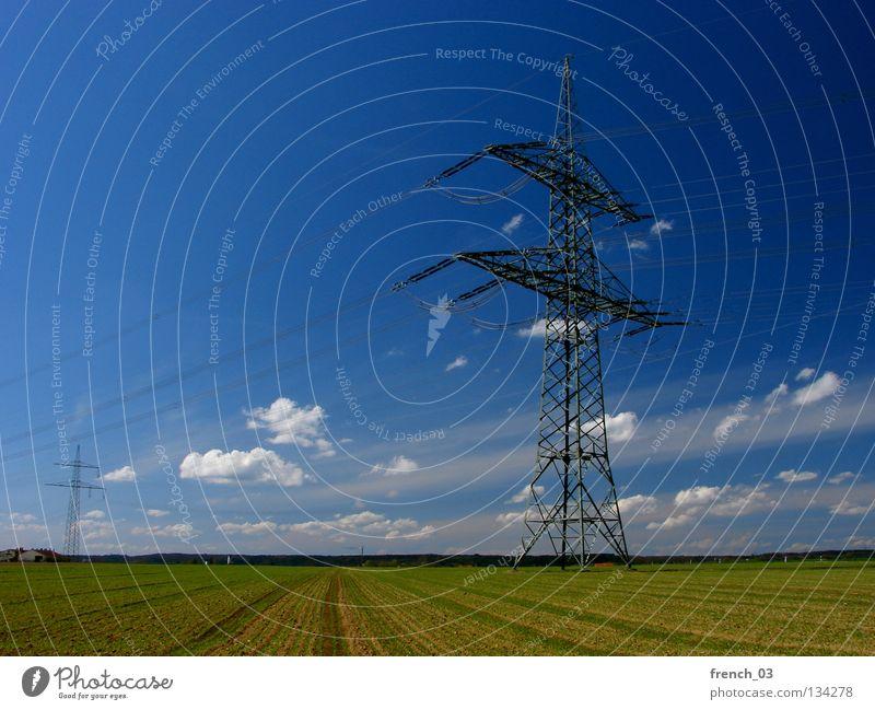 110 kV Natur Himmel grün blau Wolken Ferne Frühling Freiheit Landschaft Kraft Feld Umwelt groß frei Horizont