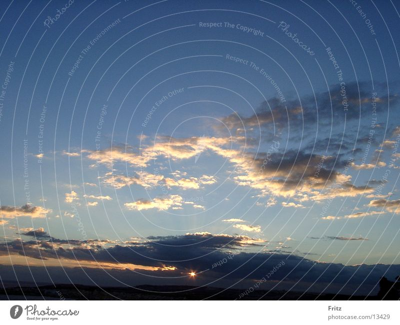 morgen-himmel Himmel Sonne Wolken Stimmung