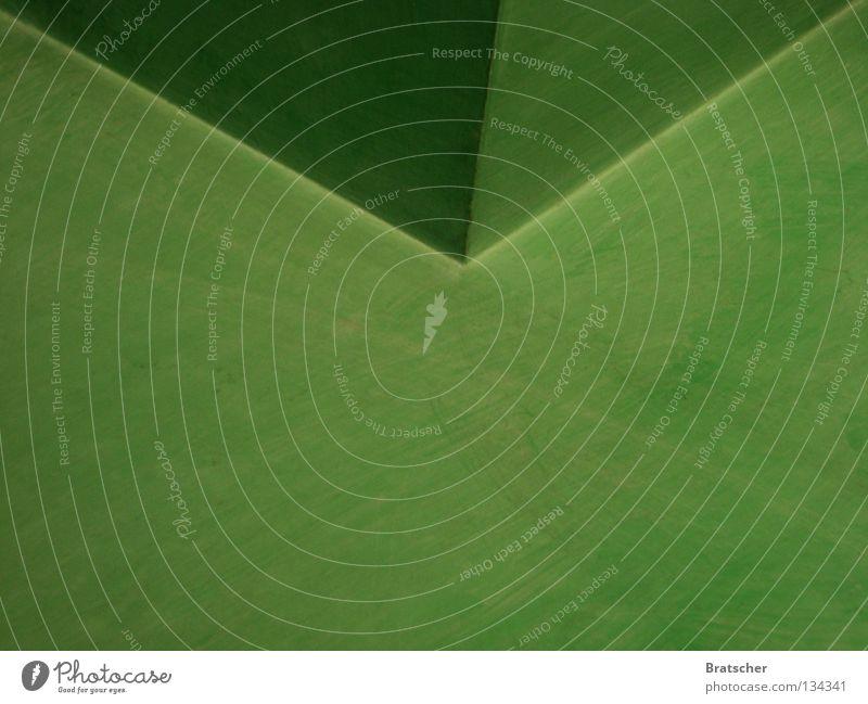 Stille Post Briefumschlag grün abstrakt gefaltet Ecke Falte Hintergrundbild Textfreiraum unten rechtwinklig Geometrie Symmetrie graphisch Textfreiraum rechts
