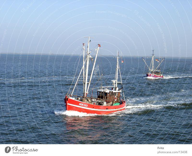 auf-hoher-see Wasserfahrzeug Meer Fischerboot Europa