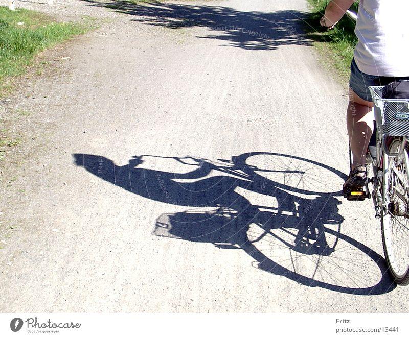 Fahrradtour Sonne Ferien & Urlaub & Reisen Verkehr Ausflug