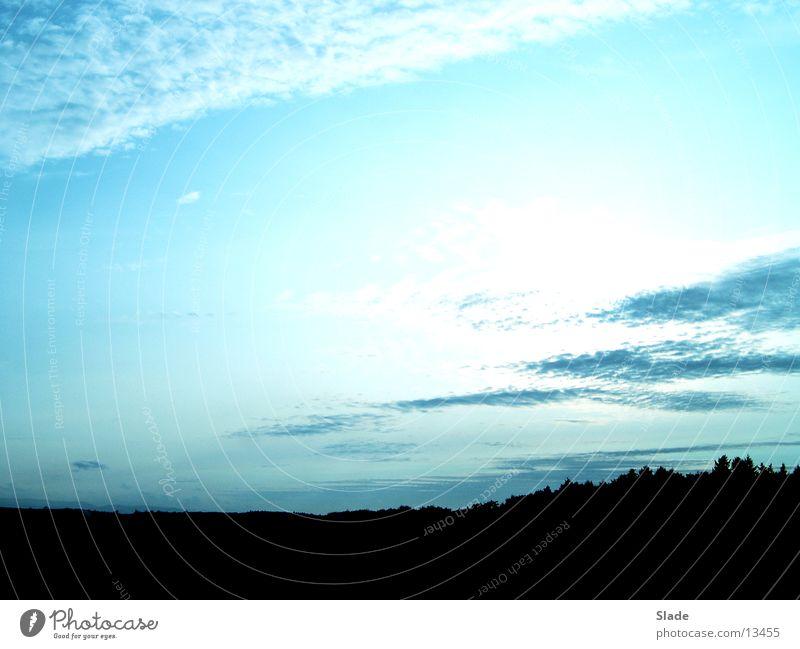 Abendstimmung Wolken Licht Sonnenuntergang Himmel