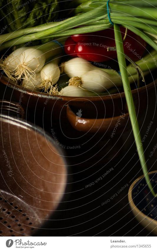 Stilleben grün schwarz Essen Foodfotografie Gesundheit Lebensmittel Wohnung Häusliches Leben genießen Kochen & Garen & Backen Idee einzigartig Küche Bioprodukte
