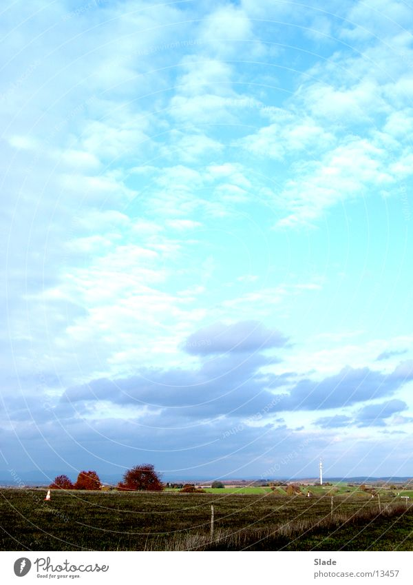 Wolken Himmel Sonne Wolken Herbst Wetter Horizont