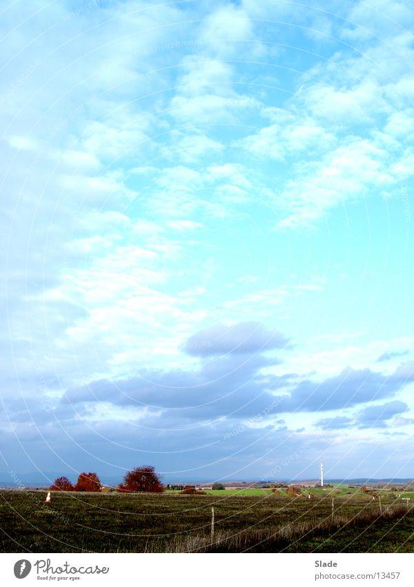 Wolken Horizont Herbst Himmel Wetter Sonne