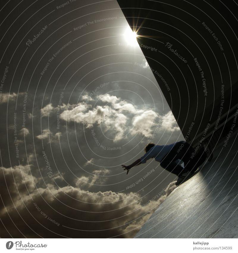 spiders theme Mensch Himmel Mann Hand Sonne Meer Haus Fenster Berge u. Gebirge Gefühle Architektur springen See Lampe Luft Linie