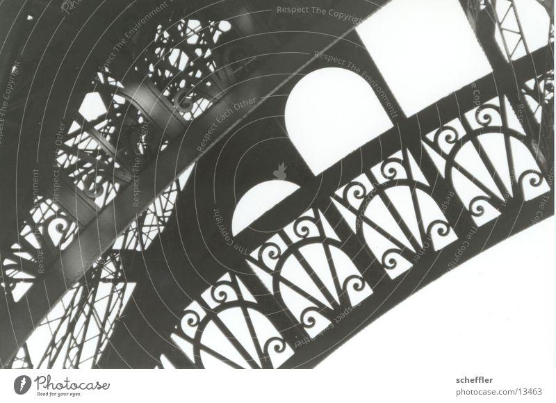 Eifelturm_Detail02 Tour d'Eiffel Paris Eisen Gebäude Architektur