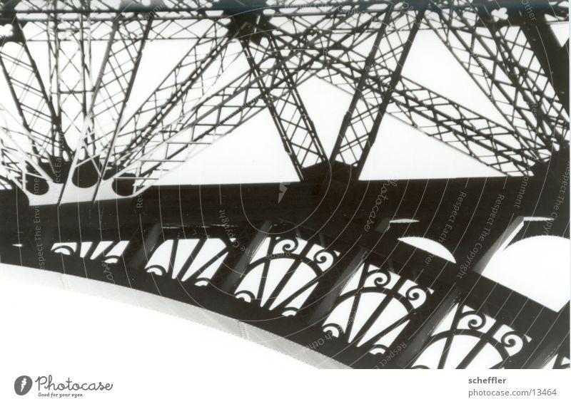 Eifelturm_Detail01 Tour d'Eiffel Paris Eisen Gebäude Kunst Architektur