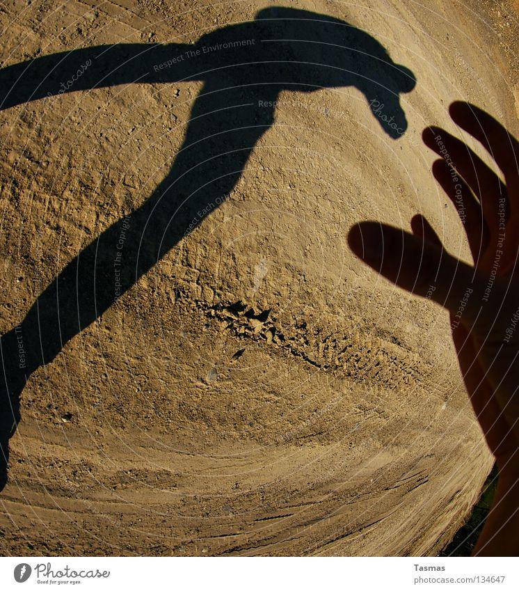 Göttliches Eingreifen Sonne Erde Sand Wüste Denken gehen Reinigen Ende kopflos Wilder Westen Zigarettenmarke Monster Eingriff vernichten Mars Sureal