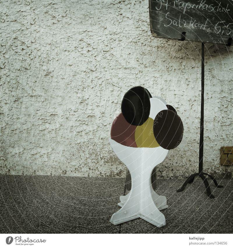 paprika eis Sommer Farbe Speiseeis Schriftzeichen Werbung Café Süßwaren Markt Putz Schnellzug Backwaren Schalen & Schüsseln Kreide Becher Marketing Waffel
