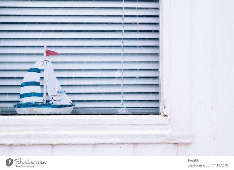 Zeit zum träumen Stil Umzug (Wohnungswechsel) einrichten Dekoration & Verzierung Jalousie Fensterdekoration Kunstwerk Architektur Kultur Dänemark Fischerdorf