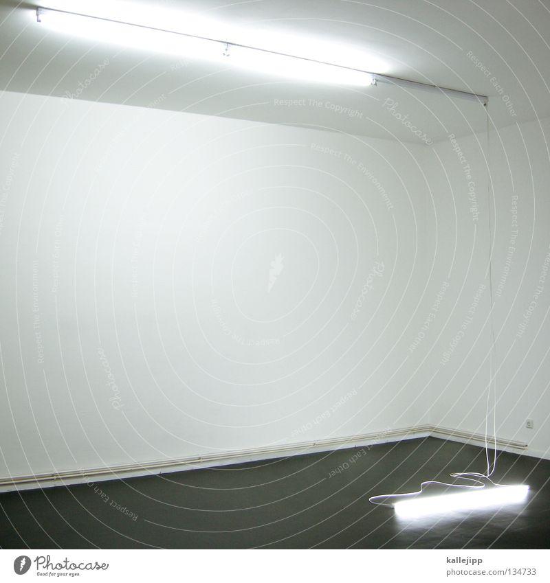 kunst - licht Lampe Arbeit & Erwerbstätigkeit Raum Beleuchtung Kraft Kunst Energiewirtschaft Elektrizität Technik & Technologie Bodenbelag Netz Innenarchitektur